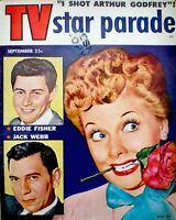 Lucille Ball Desi Arnaz Magazine 1954 TV Star Parade Betty White Marilyn Monroe