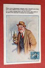 CPSM. Illustrateur Donald Mc GILL. Comique. N°3858. Il y a mille raisons pour...