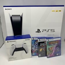NEW PlayStation   Console BUNDLE with Extra Controller PLUS 3 Games