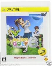 Used PS3 Minna no GOLF 6 SONY PLAYSTATION 3 JAPAN JAPANESE IMPORT