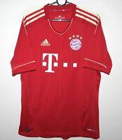 Bayern Munich Germany home football shirt 12/13 Adidas Size S