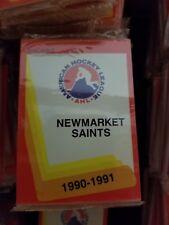 1990-91 Pro Cards AHL NEWMARKET SAINTS Hockey Team Set Sealed