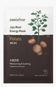 Innisfree Jeju Racine Énergie Potato Visage Masque Pour Hydratante Et Apaisant