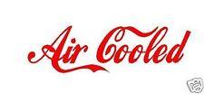 AIR COOLED Car/Windows/Vans Surfing, JDM CAMPERAN Vinyl Decal Sticker,VOLKSWAGAN
