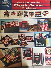 Red White Blue Patriotic Projects plastic canvas pattern School of Needlework