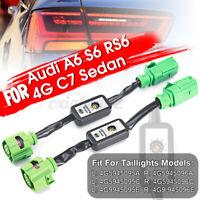 2X Semi Dynamisch Blinker LED Rückleuchten Module Für Audi A6 S6 RS6 4G C7 Sedan