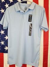Chaps Boys Performance Polo Short Sleeve Shirt Blue XL 18-20 $20.00