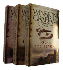 Winston Graham Poldark Series 3 Books Demelza Ross Jeremy Cornwall Romance New
