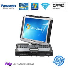 GRADE A PANASONIC TOUGHBOOK CF-19 MK6 LAPTOP / CORE i5 / 8GB / 128GB SSD / WIN 7