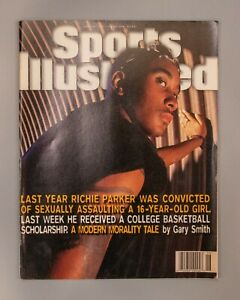 Sports Illustrated Jun 24 1996 Richie Parker Convicted No Label