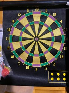 Dart Game 2-in-1 Magnetic Dart Board Indoor Game 2 Sided