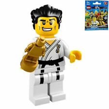 LEGO 8684 MINIFIGURES Series 2 #14 Karate Master with gold trophy