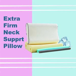 Cervical Contour Memory Foam Pillow Orthopedic Neck Support Pillow w/Pillow case