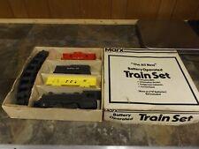 Vintage Marx Toys Battery Operated Train Set 2505