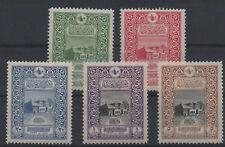 1916 TURKEY  OTTOMAN  50th ANNIVERSARY OF CITY POST  COMPLETE SET MNH** LUX