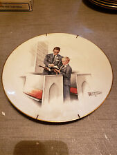 """New listing 1980 Norman Rockwell Limited Edition Gorham Spring - In His Spirit Plate,10 3/4"""""""