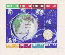 Weltraum-Kleinbogen 1962 Nr. 926-933 Marken postfrisch