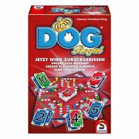 Schmidt Spiele DOG Royal, Familienspiel Brettspiel, Kartenspiel, 2 bis 6 Spieler