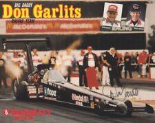 1992 Don Garlits signed Kendall GT-1 Top Fuel NHRA postcard