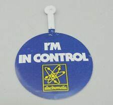 """Vintage Electromatic Button """"I'm In Control"""""""