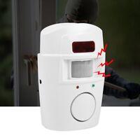 PIR Eingangsmelder Detektor Alarmanlage mit Fernbedienungen Garage Hausalarm