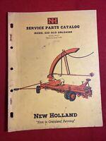 1961 New Holland Service Parts catalog Model 530 Silo Unloader