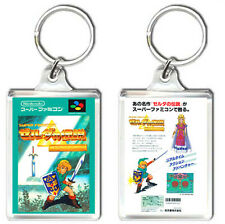THE LEGEND OF ZELDA A LINK TO THE PAST SUPER FAMICOM SNES KEYRING LLAVERO