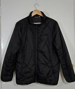 Denali Puffer Jacket Size XL Womens Black Zip Front Zip Pockets Internal Pocket