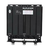 2019 50W UHF 6 Cavity Duplexer N Connector FREE tune radio repeat 380-520Mhz
