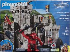 """Playmobil 5670 Knights """"Burgtor mit Troll"""" ~ Neu und OVP"""