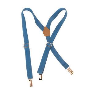 MIMISOL Y-Back Braces Suspenders Size 6Y / 116CM Elasticated Made in Italy
