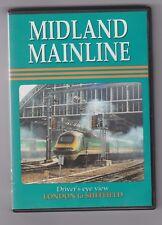 Midland MainLine (DVD) Railway DVD ~ Drivers Eye View ~ Cab Ride ~ Video 125