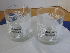 Disaronno Cocktail / On the Rocks Glasses (Set Of 2) Cavalli Barware Advertising