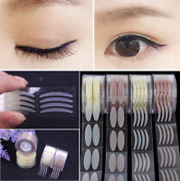 600Pcs/Roll Invisible Wide/Narrow Makeup Double Eyelid Tape Sticker Unique