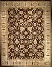 Hand-knotted Rug (Carpet) 9'2X12'4, Agra mint condition