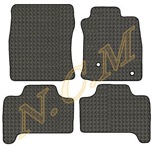 TOYOTA LAND CRUISER 2003-2009 RUBBER CAR MAT FULLY TAILORD (3MM & 5MM CHECKER)