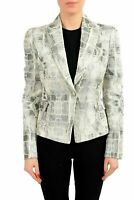 Just Cavalli  Multi-Color One Button Tuxedo Women's Blazer US S IT 40