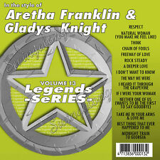 Karaoke Legends Aretha Franklin/Gladys Knight/Pointer Sisters 2 CD+G Vol-13+186