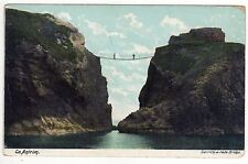 CARRICK-A-REDE ROPE BRIDGE County Antrim NORTHERN IRELAND PC Postcard Ballintoy