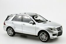 LS Collectibles 2012 MERCEDES BENZ ML 63 AMG SILVER 1:18 Rare Find!*Nice!