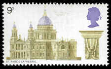 Scott # 593 - 1969 - ' St. Paul's Cathedral ' Phosphor Lined Paper