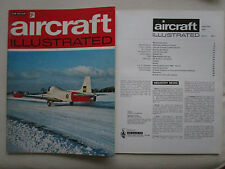 AIRCRAFT ILLUSTRATED 1/70 JET PROVOST ANTILLES AIR BOATS BEAUFIGHTER NATIONAL