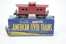 Vintage American Flyer Gilbert S scale 630 caboose w/ box