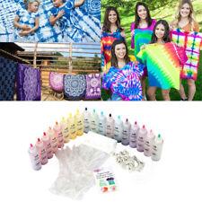 18 pcs Tulip One-Step Tie Dye Kit Vibrant Fabric Textile Permanent Paint Crafts
