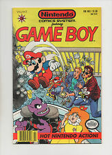 Nintendo Comics System #1 - Game Boy Mario & Peach Cover - (Grade 8.5) 1991