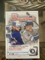 2020 Single Bowman Baseball Factory Sealed Blaster Box topps