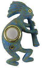 Surface Mount Doorbell Handpainted Kokopelli Southwest Door bell Push Button