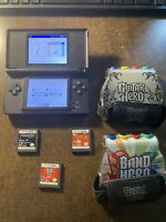Nintendo DS Console Bundle! With Guitar Hero & Other Games