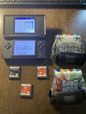 Nintendo Ds Console With Guitar Hero & Other Games