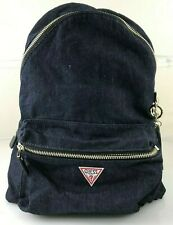 GUESS Leeza Urban Chic Denim Logo Backpack (ls455732 11198709)